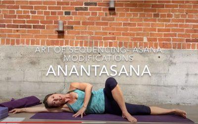Anantasana Modifications
